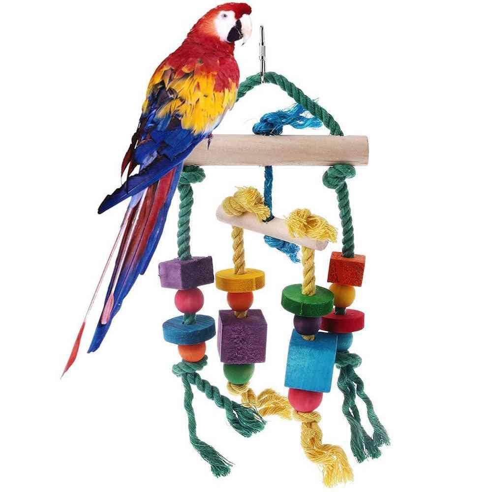 Colorful Beads Bells, Suspension Hanging Bridge Chain