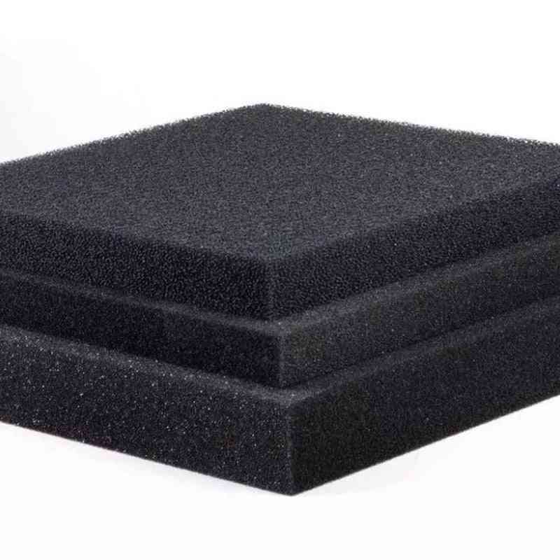 Black Filtration Foam, Aquarium Fish Tank, Biochemical Filter Sponge Pad