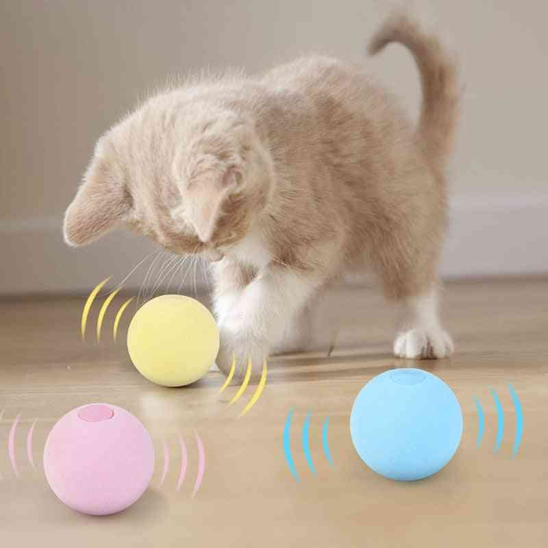 Smart Interactive Ball Catnip Cat Training Toy