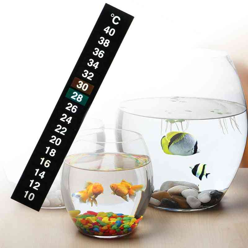 Digital Aquarium- Fish Tank Thermometer, Stick-on Temperature Sticker
