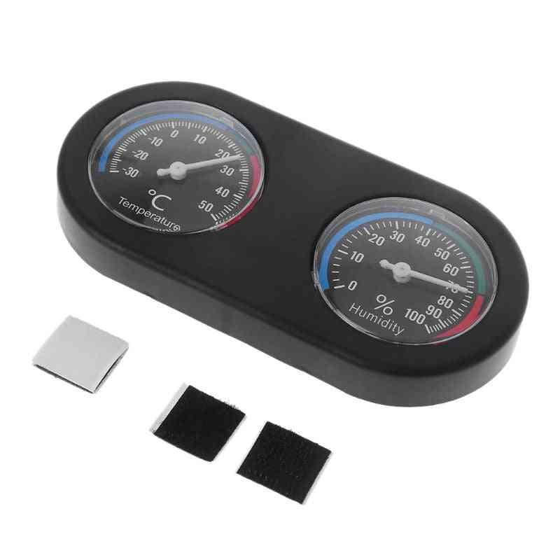 Reptile Tank Thermometer, Hygrometer Monitor, Temperature And Humidity, Vivarium Terrarium