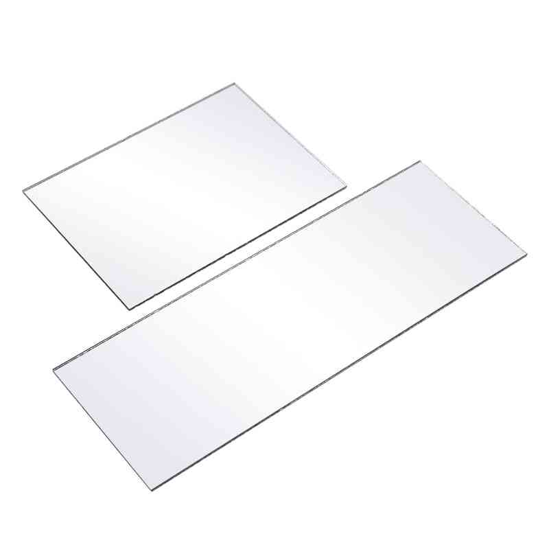 3mm Thickness Clear Acrylic Mirror Sheet, Decal Sticker - Home Wall Decoration