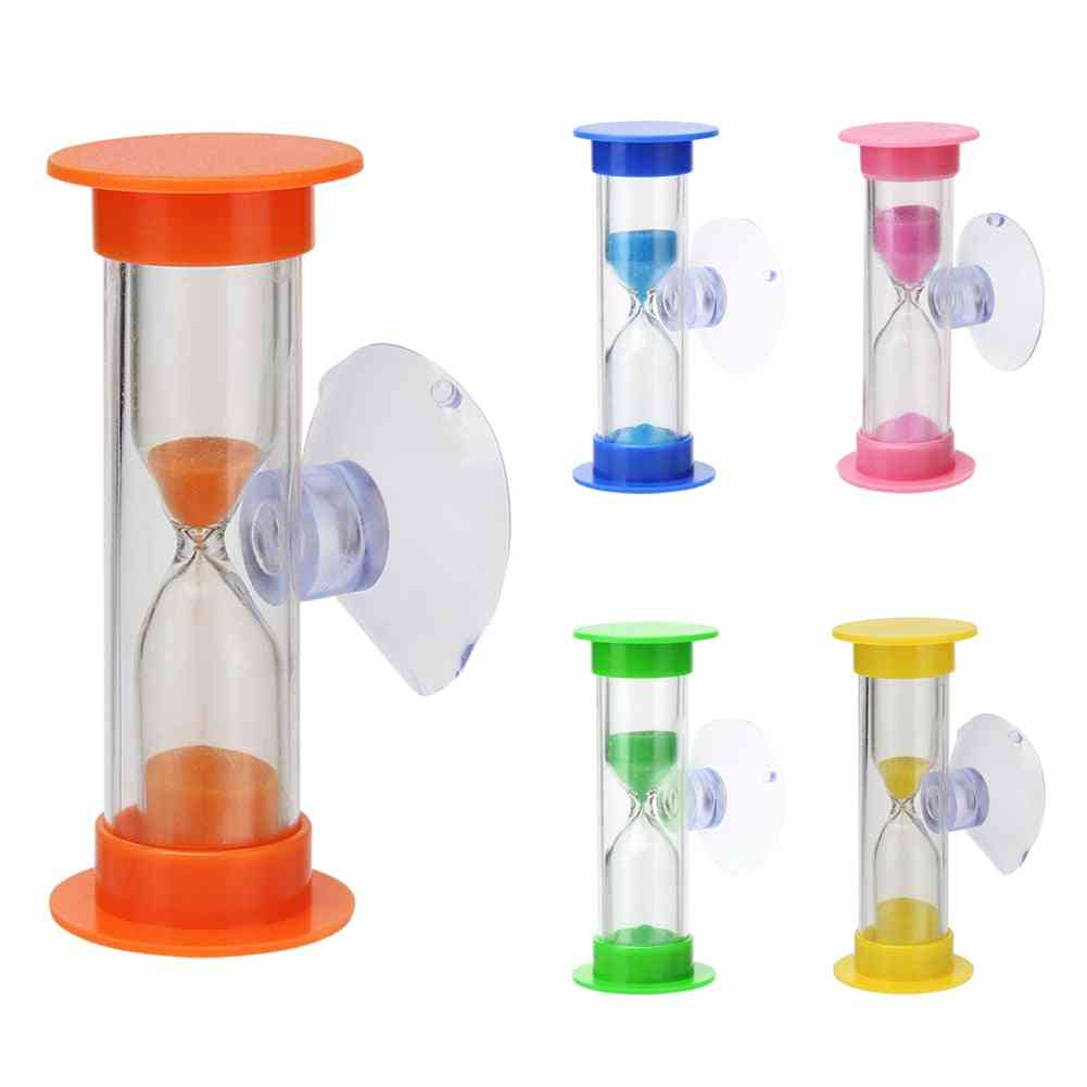 Children Teeth Brushing Timer With Suction Cup For Home Decor Hourglass