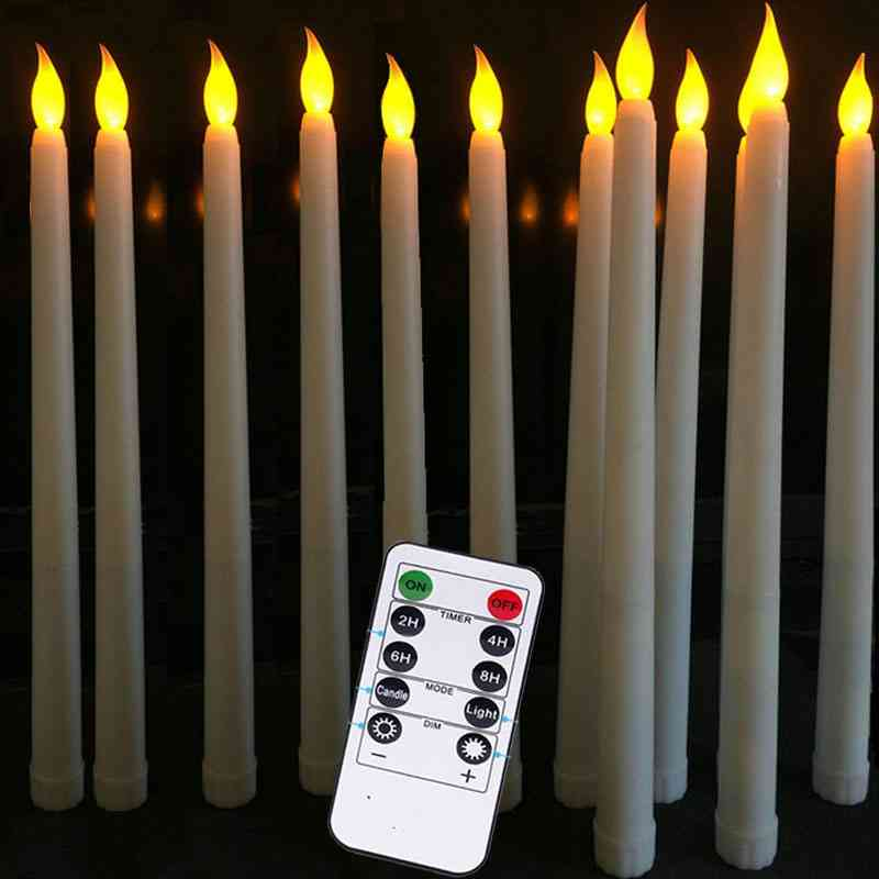 12- Flickering Remote, Led Candle