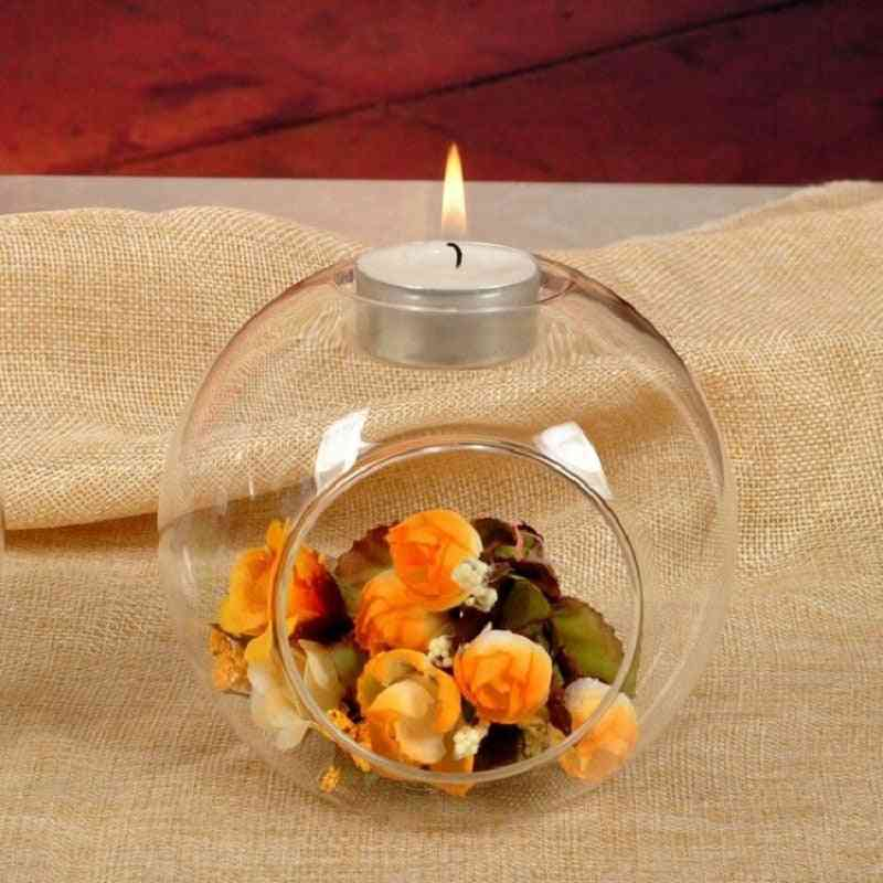 Crystal Glass- Hanging Creative Candle Holder