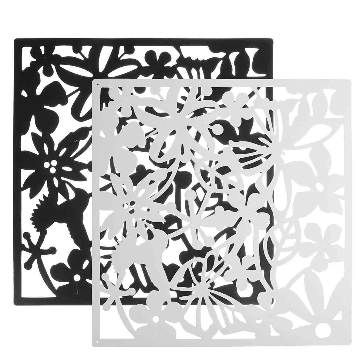 Butterfly Bird Flower Hanging Screen Partition Divider Panel Room Curtain