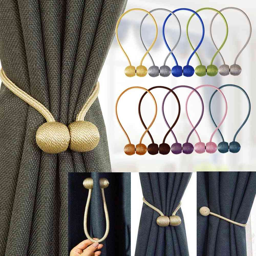 Magnetic Curtain Tieback, High-quality Holder, Hook, Buckle Clip