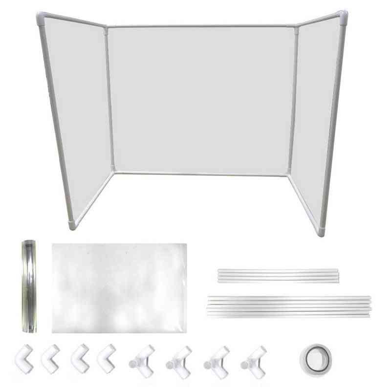 Plastic Shield Protector Table Desk