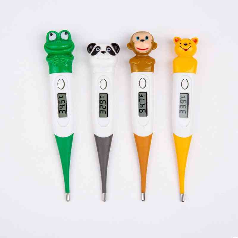 Waterproof- Digital Led Thermometer, Cartoons Body Veterinary