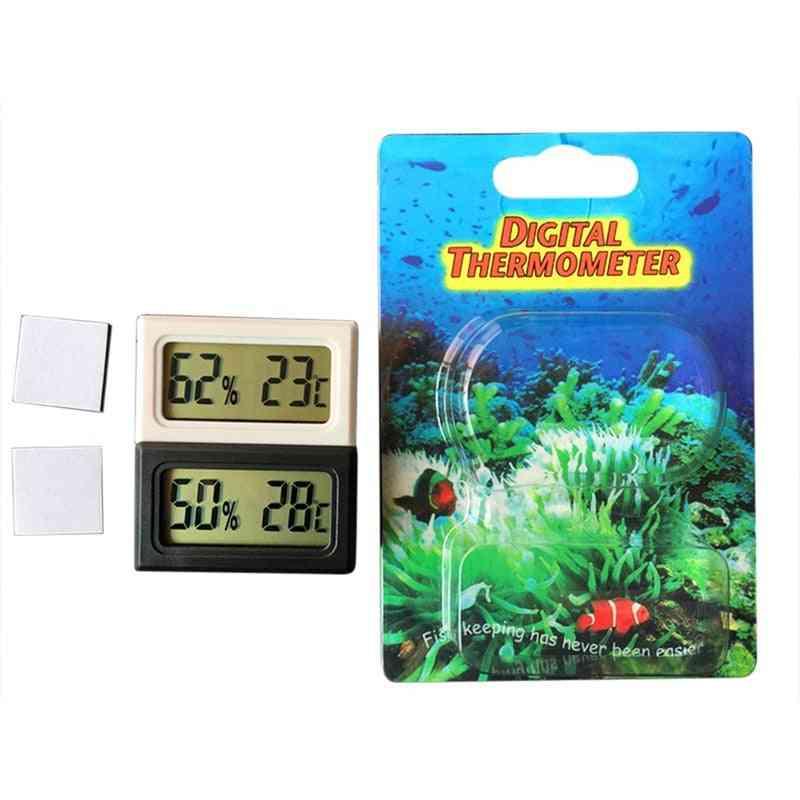 Digital Lcd Temperature Sensor, Humidity Meter, Fridge Thermometer Gauge (black)