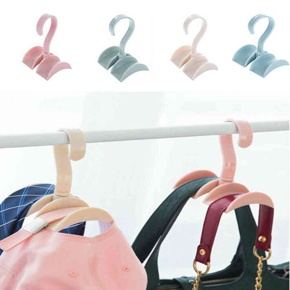 Household Wardrobe, Storage Hook, Portable Hanger For Scarf, Bags