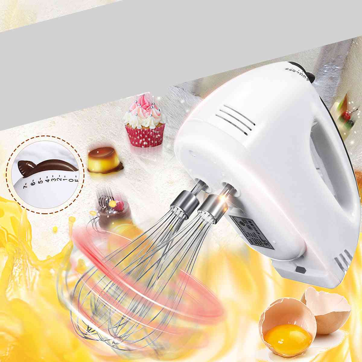 Electric Dough Hand Held, Food Whisk Beater, Kitchen Cake, Baking Blenders