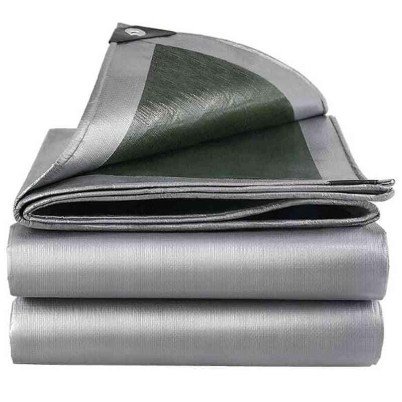 Pe Tarp Highly Transparent Cover, Home Garden Rain Sail Waterproof Tarpaulin