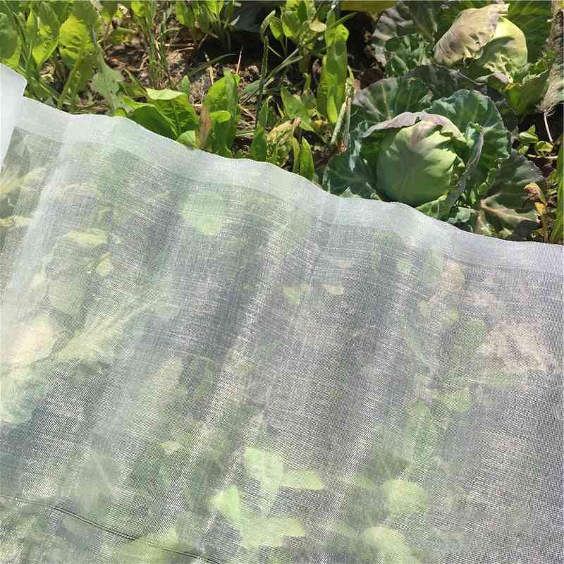 Mesh Greenhouse Protective Net, Insect Bird Garden Hunting Blind For Protect Flower Plant Fruits