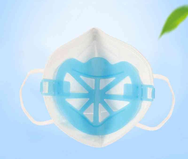 3d Mask Bracket Prevent Tightness Increase Nose Breathing Reused Filter Auxiliary Inner