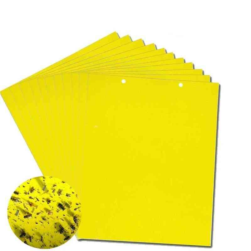 Strong Fly Traps Bugs Sticky Board Insects Pest Control Glue Sticker