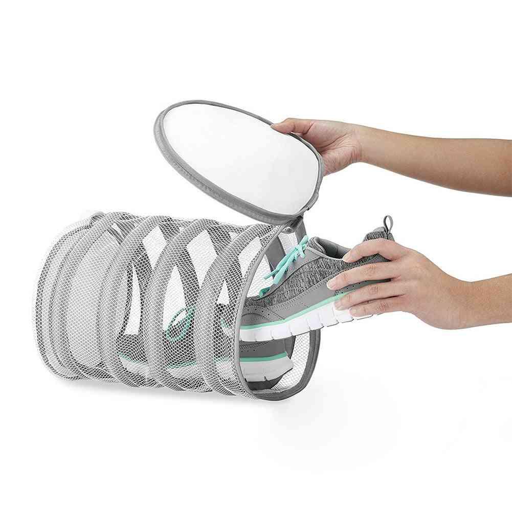 Polyester Washing Net, Laundry Drying, Protective Shoe Bag