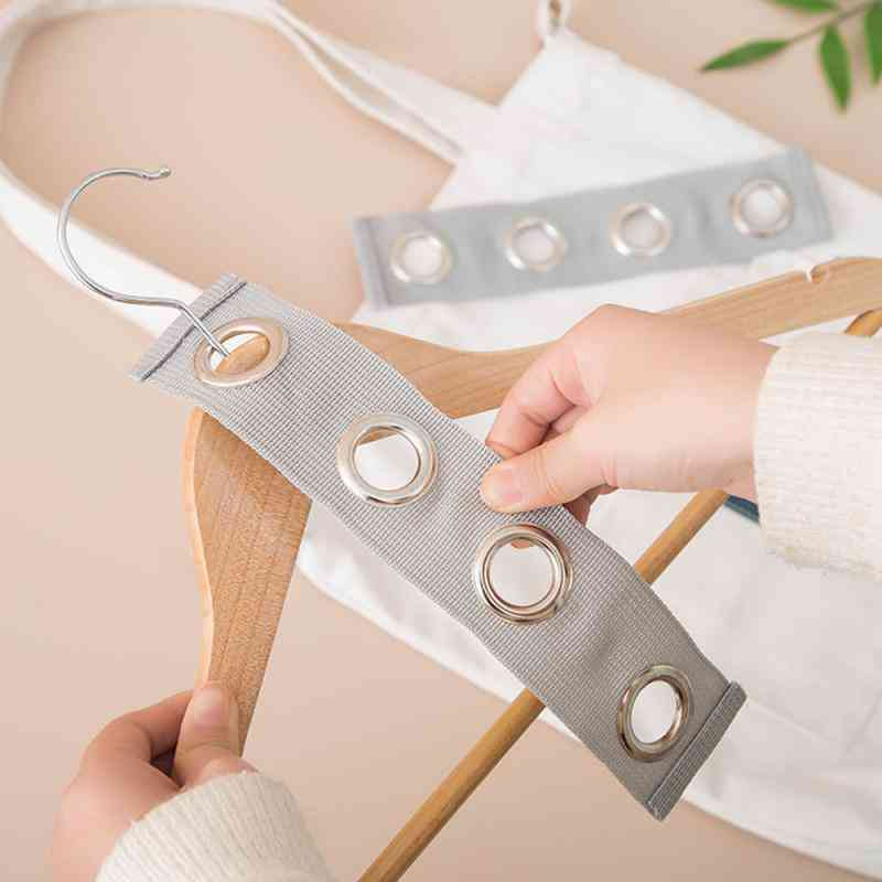 Space Saving Plastic Cloth Hanger With Hook