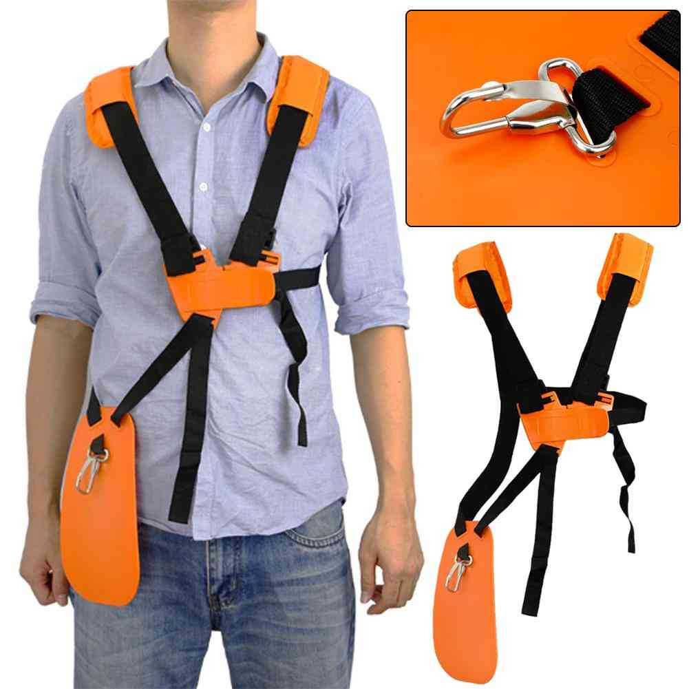 Adjustable Strimmer Double Breasted, Shoulder Harness Strap For Brush Cutter