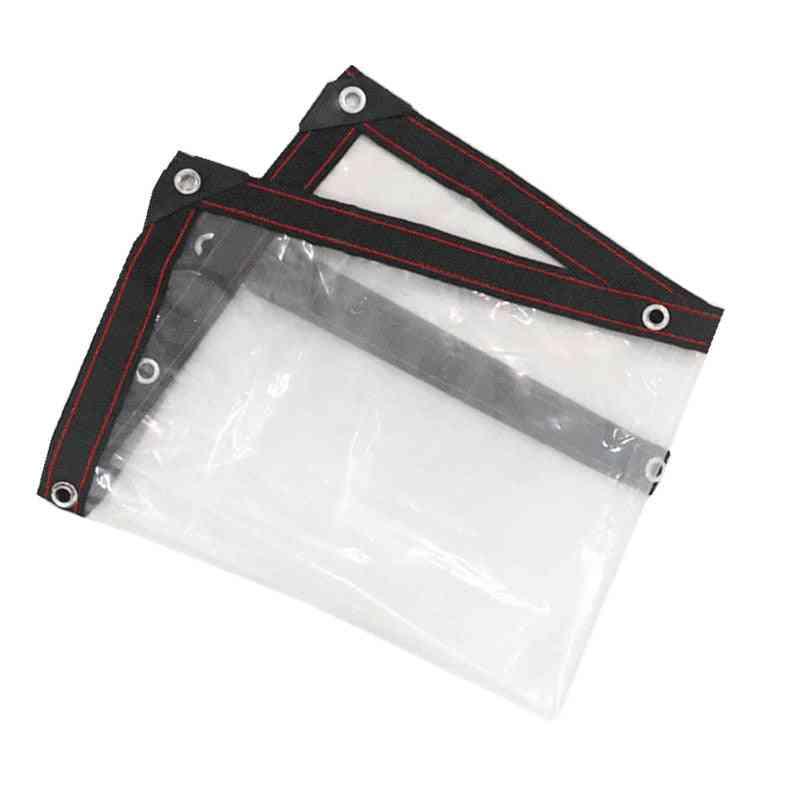 Transparent Rainproof Shade Cloth, Lightweight Waterproof Tarp Cover