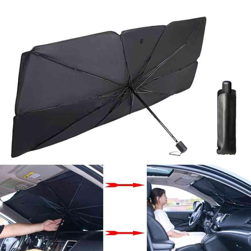 Car Sunshade Umbrella, Uv Windshield Cover