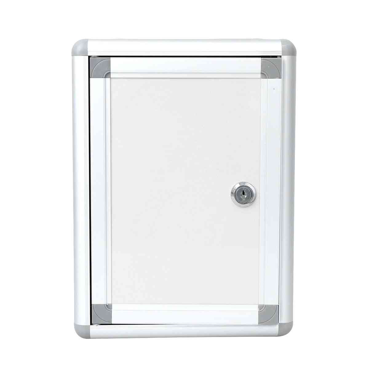 Wall Hanging Alloy Small Complaint Mailbox