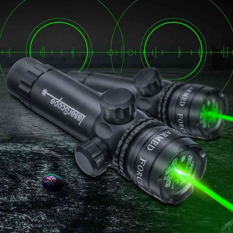 Hunting Green Dot Laser, Sight Light, Scope Barrel, Rail Mount For Rifle Airsoft