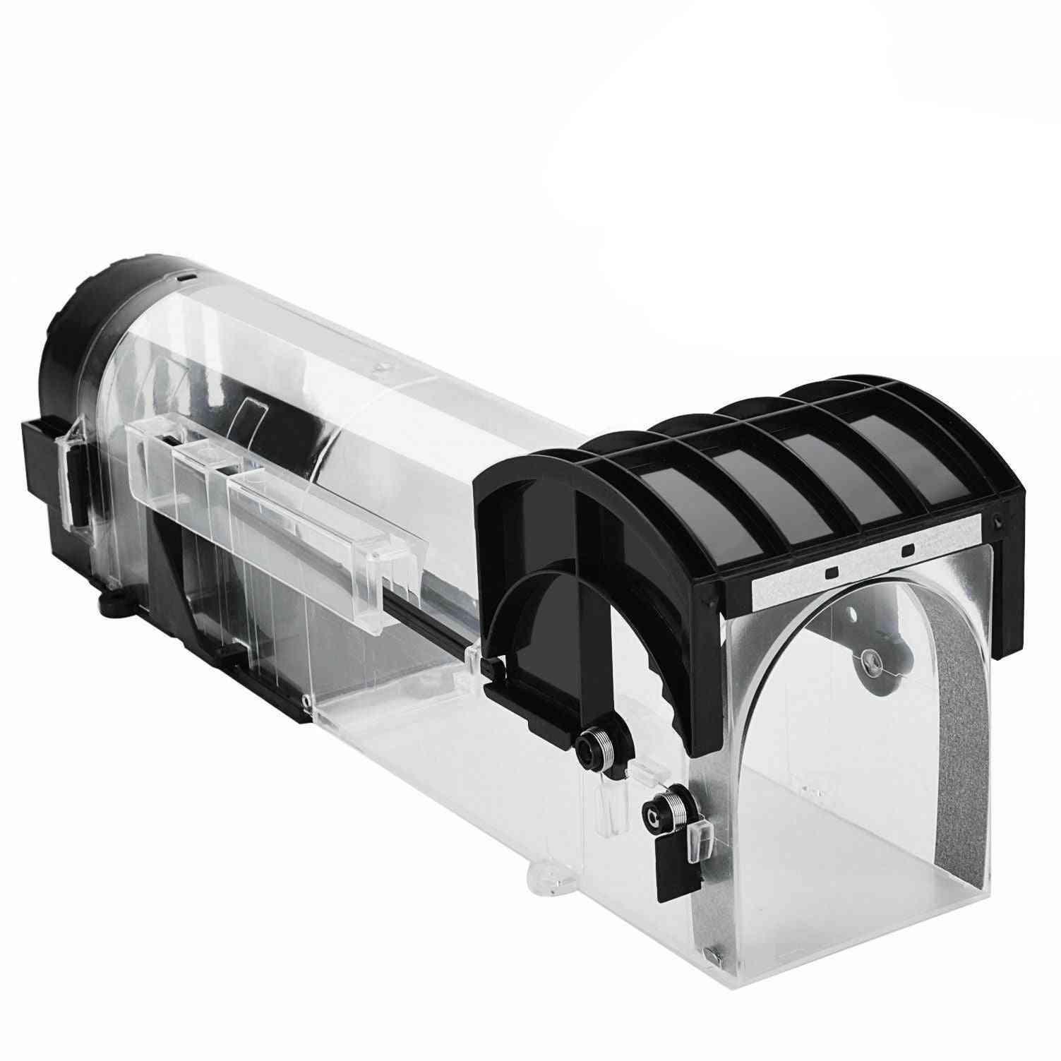 Reusable Humane- Clear Plastic, No-kill Smart Mouse, Trap Catcher  (1 Pcs)