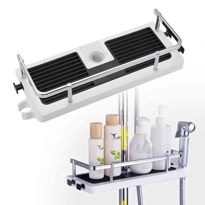 Shower Storage Rack Organizer, Bathroom Shelf, Shampoo Tray Stand