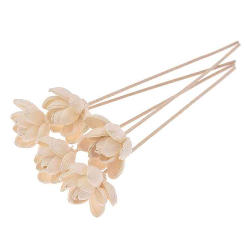 Water Lily Flower Aromatherapy Rattan Diffuser Sticks