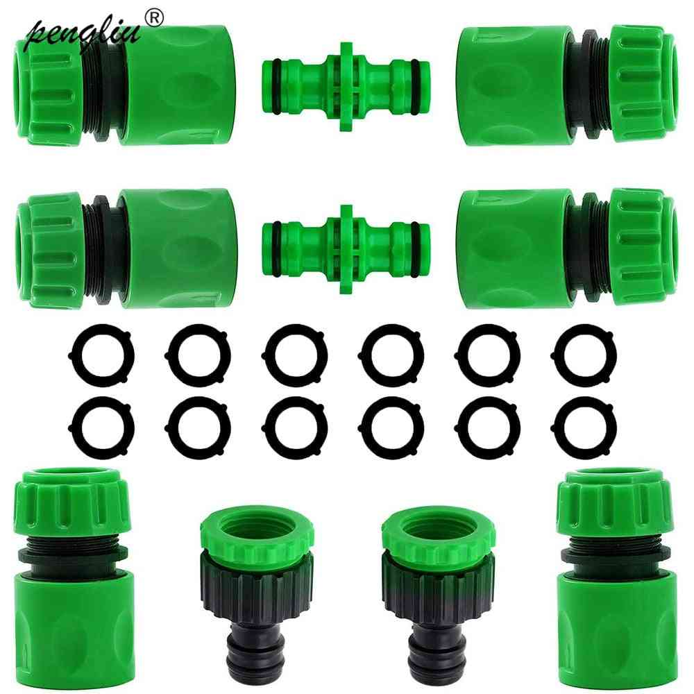 """Garden Watering Abs Quick Connector 1/2"""" End Double Male Hose"""