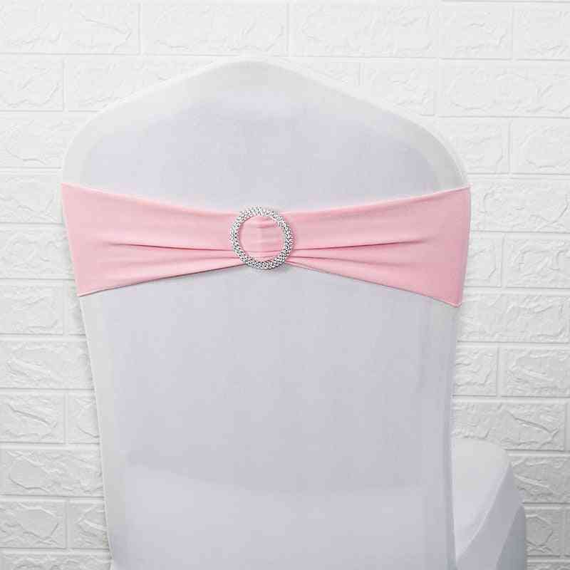 Stretch Elastic Bow With Round Ring, Sashes, Lycra Band