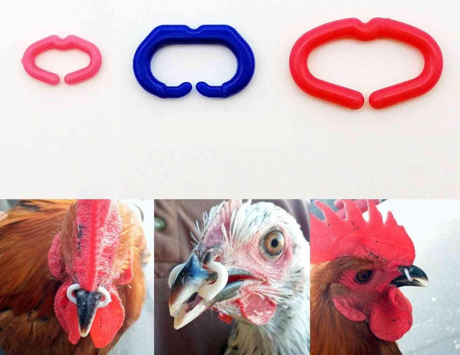 Chicken Beak Clasp Cock Fasan Mouth Snap Ring