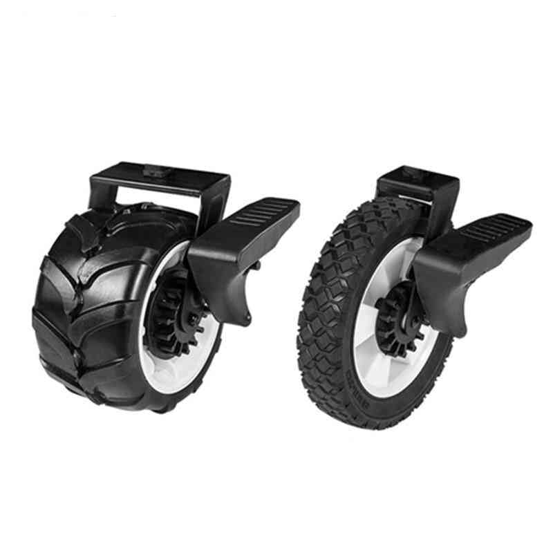Folding Wagon Cart Parts- Eva Foam, Solid Brake Wheels With Fork