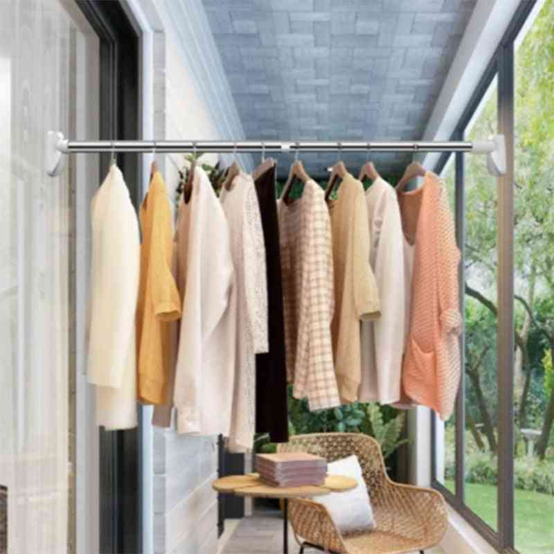 Telescopic Punch-free Adjustable Shower Curtain Rods