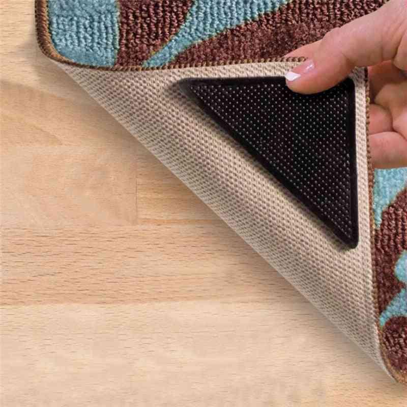 Triangular Non-slip Rug Grippers, Anti-curling Carpet Tape