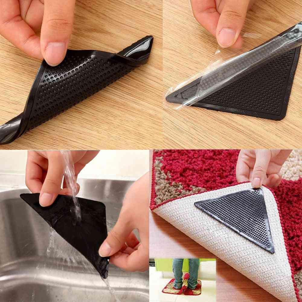 Reusable Rug Carpet Non Slip Tri Sticker Pad