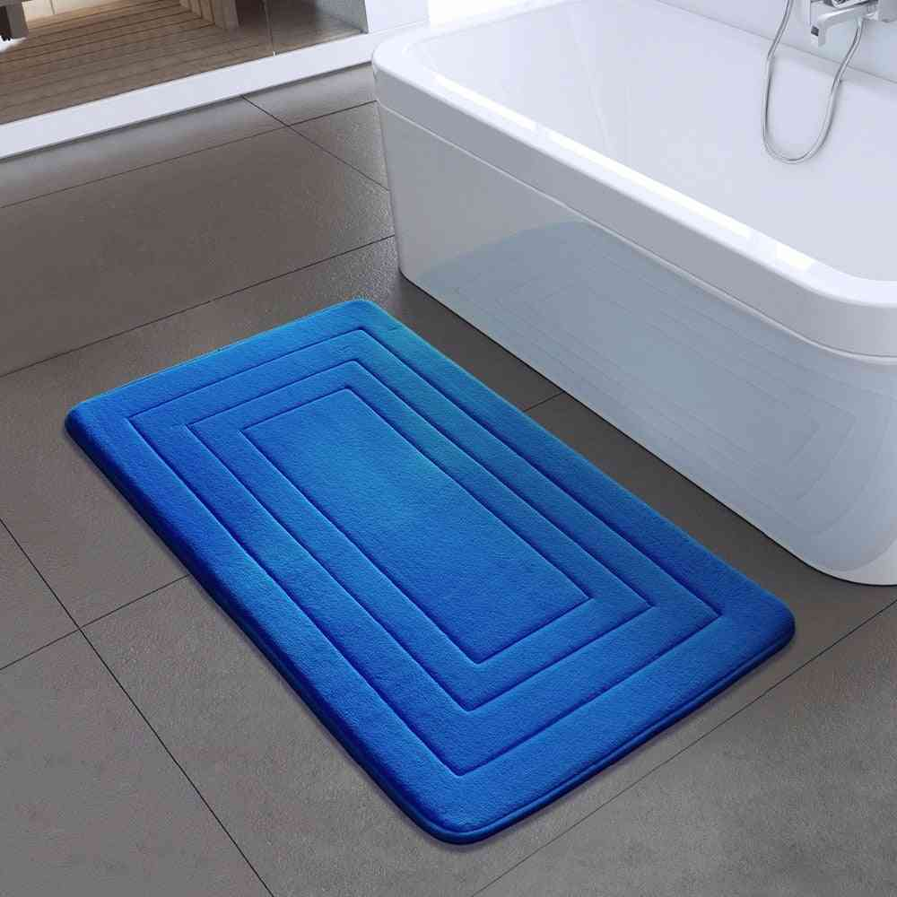 High Quality Bathroom Non-slip Mats, Foam Rug Shower Carpet