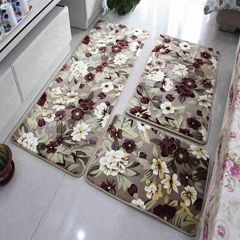 Water Absorption Bathroom Mat, Coral Fleece Floor Mats