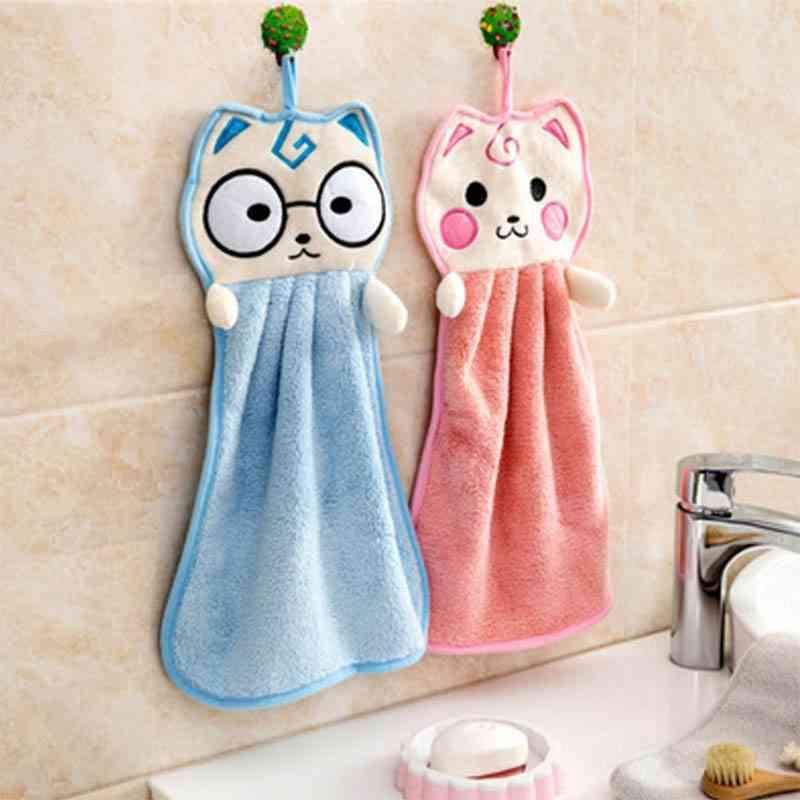 Handkerchief Washcloths, Kitchen Hanging Towels