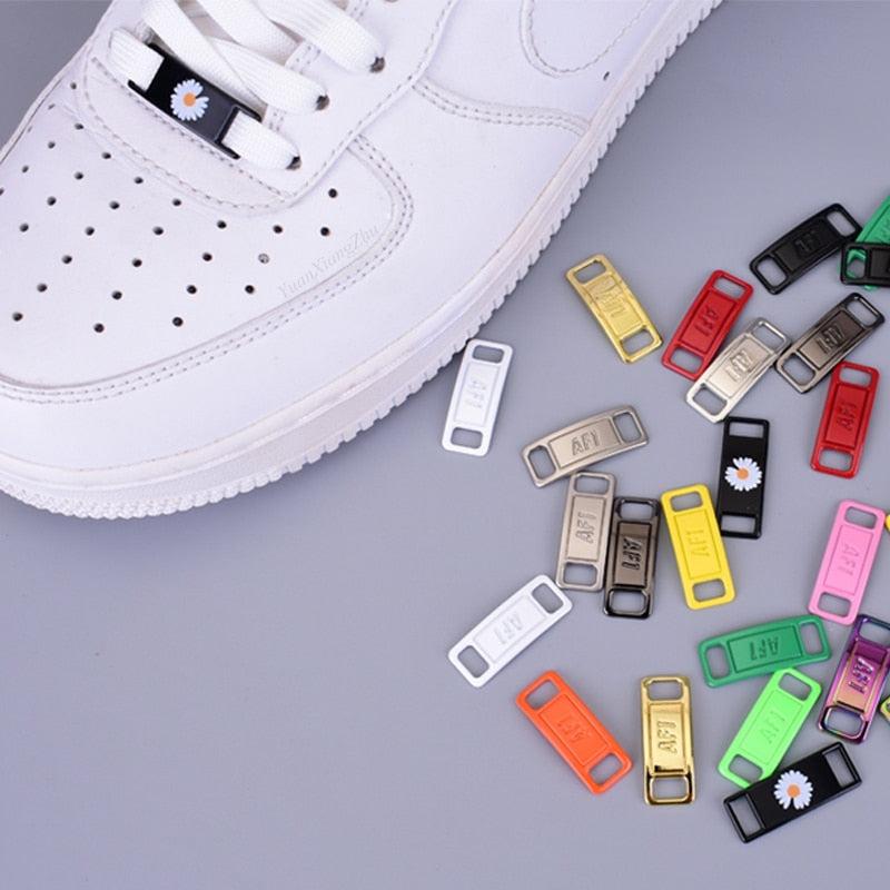 Af1- Shoelace Buckle, Metal Lace, Lock Sneaker Kits Accessories