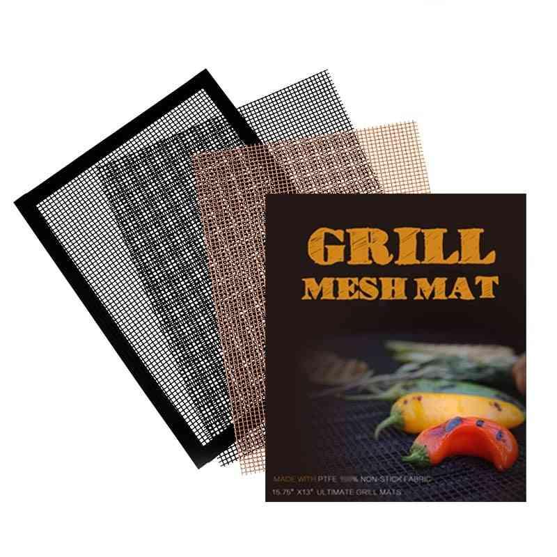 Non-stick Bbq Grill Mat, High-temperature Barbecue, Grilling Pad