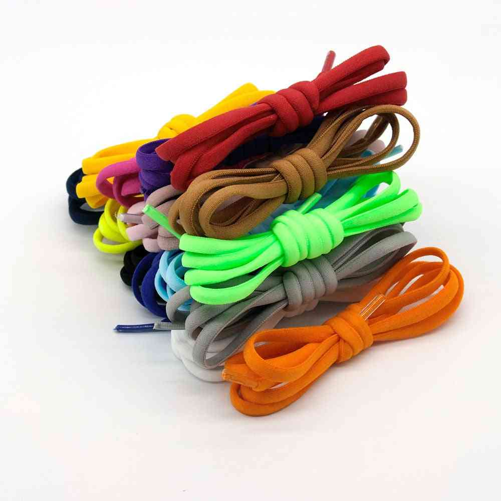 Elastic No-tie, Semicircle Shoes Laces For Sneakers Shoe Strings