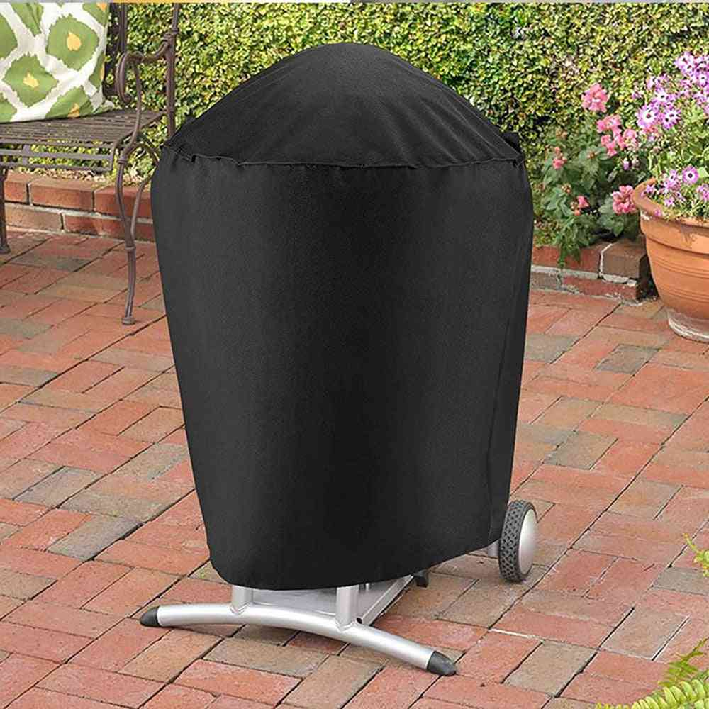 Round Bbq Gas, Heavy Duty, Double-grill Protector Cover
