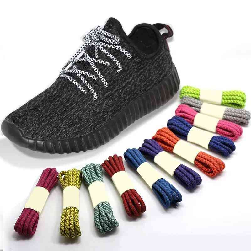 3m Reflective Shoelaces For Sneakers Shoes, 100/120/140/160cm