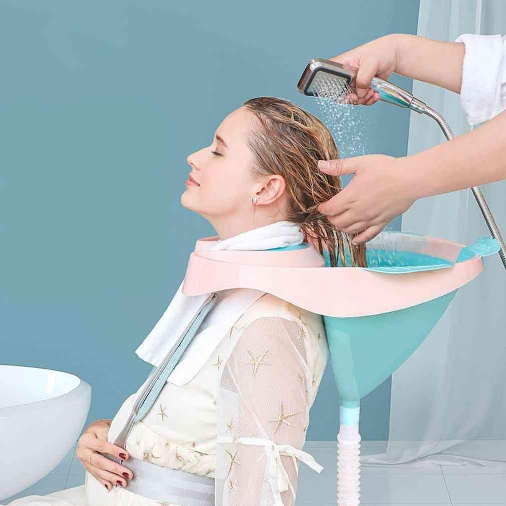 Portable- Hair Wash, Shampoo Bowl Basin