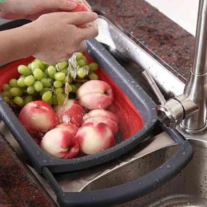 Portable- Plastic Kitchen, Basket Tools
