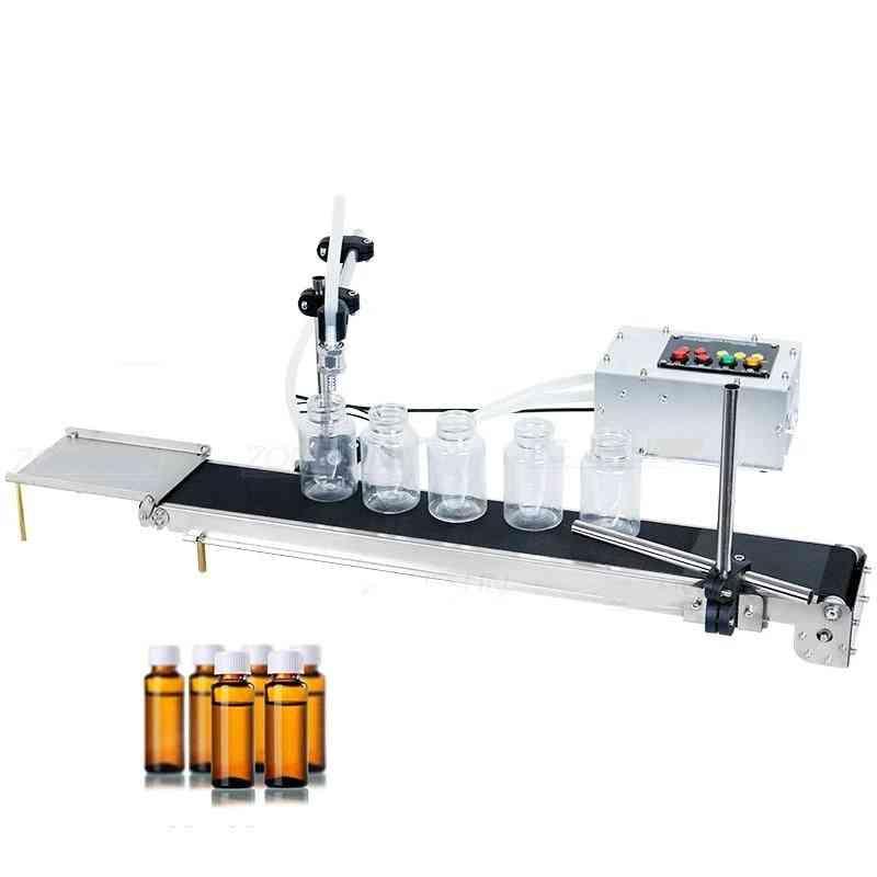 Automatic- Electrical Conveyor Belt, Single Head, Liquid Filler