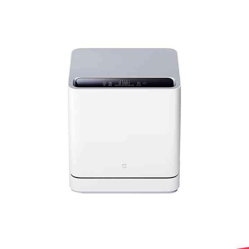 Mini Countertop Table Dish Washers, Ultrasonic Cleaner Sterilization