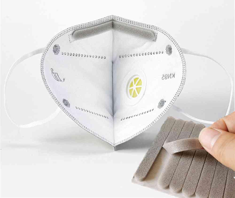 Microfiber Foam Anti-fog Nose Bridge Pads